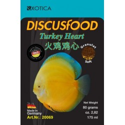 DiscusFood Turkey Heart Soft XL (80 GMS)