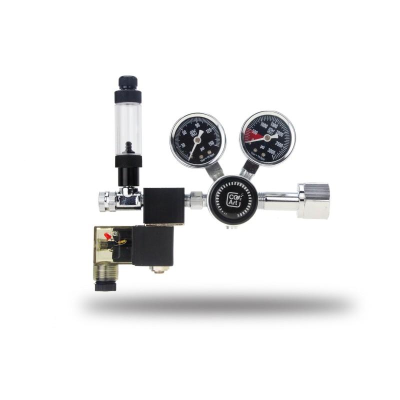 Co2 Art PRO-SE Series-Aquarium CO2 Dual Stage Regulator with Solenoid