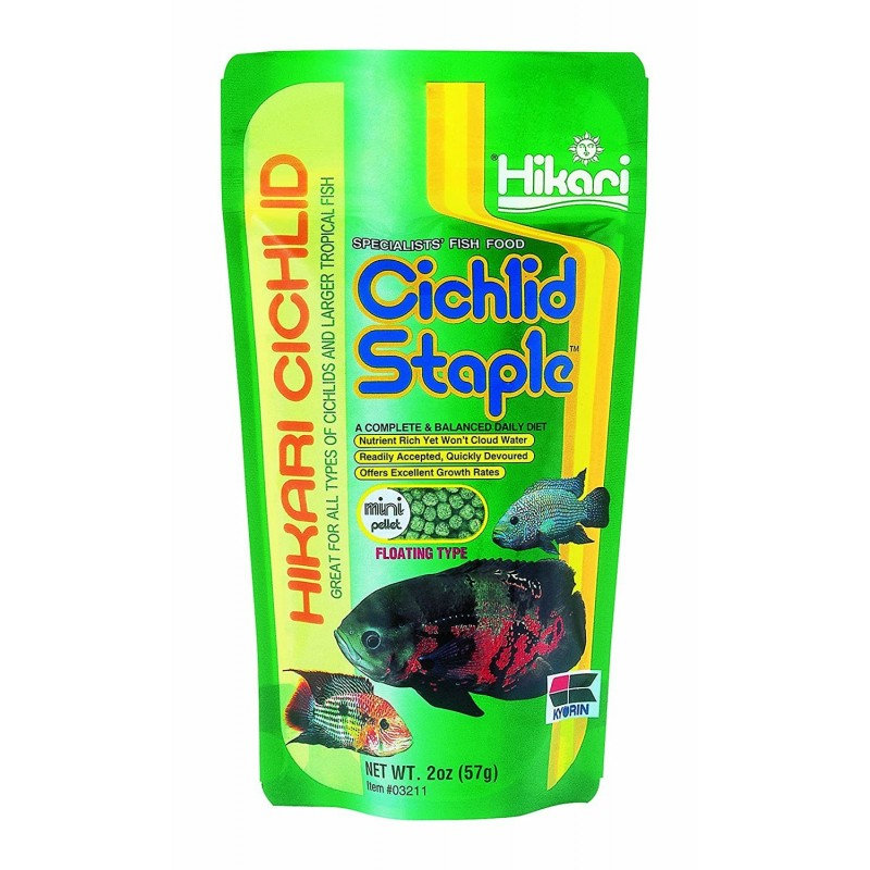 Hikari Cichlid Staple | 57 G | Mini | Floating