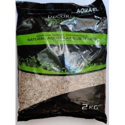 Aquael Natural Multi-Color Gravel 1.4 - 2 MM (2 KG)