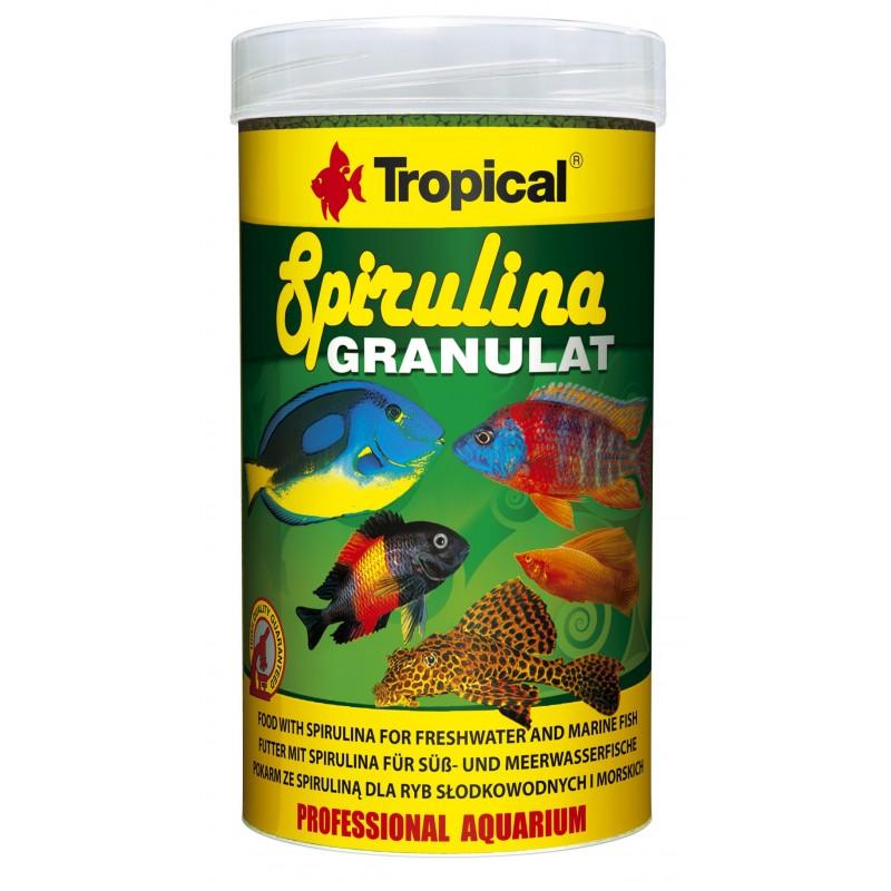 Tropical Spirulina Granulat | 44 G | Granulates