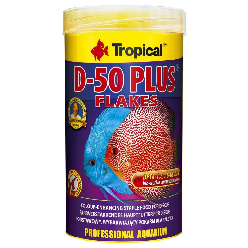 Tropical D-50 Plus | 50 G | Flakes